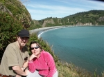 Darrell Crump and wife, Olga, in southern Chile