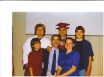 Ernie & Ann Hernandez with Rik, Ben, Max and Jeff at Max's HS graduation in 2004