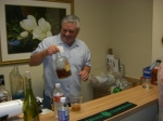 Kerry Caudle - Volunteer bartender at the hospitality suite