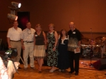 The planning committee - Steve Stephenson, Rick Carothers, Phyllis Brown Stephenson, Linda Harms Avery, Jeanne Goodhew,